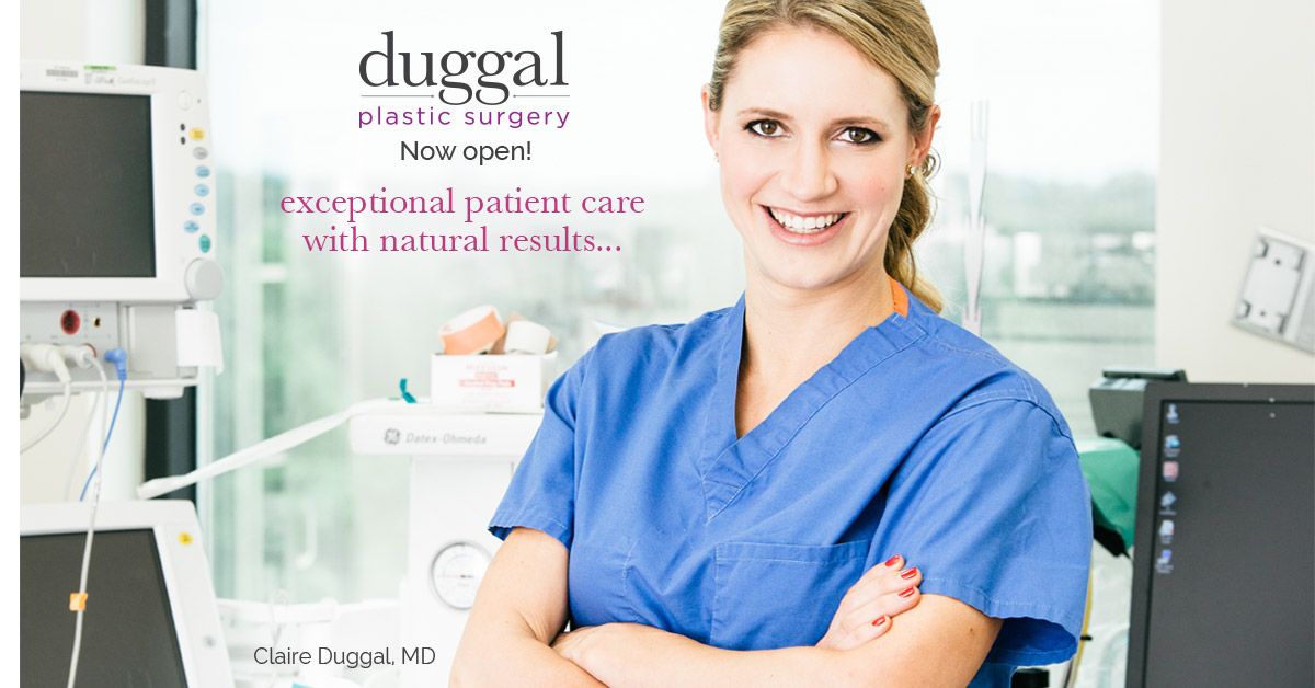 Grand Opening: Duggal Plastic Surgery Now Open in Annapolis, MD